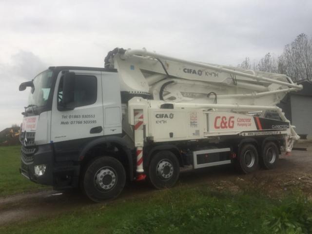 C&G Concrete Pumping Ltd