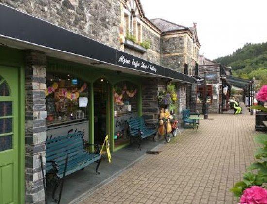 The Alpine Coffee Shop